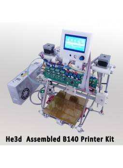 He3D-B140 3D Printer Completed assembly Huxley Reprap