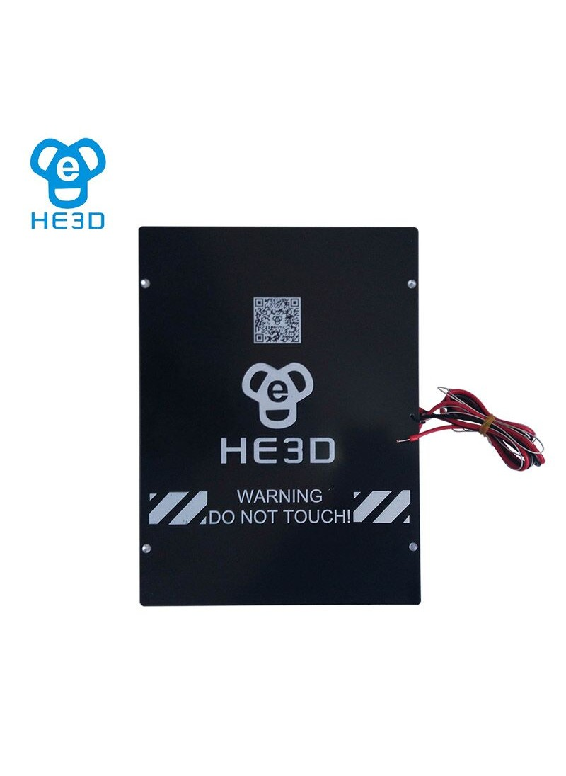 HE3D prusa i3 heat bed MK3 printing size 200*280*200mm