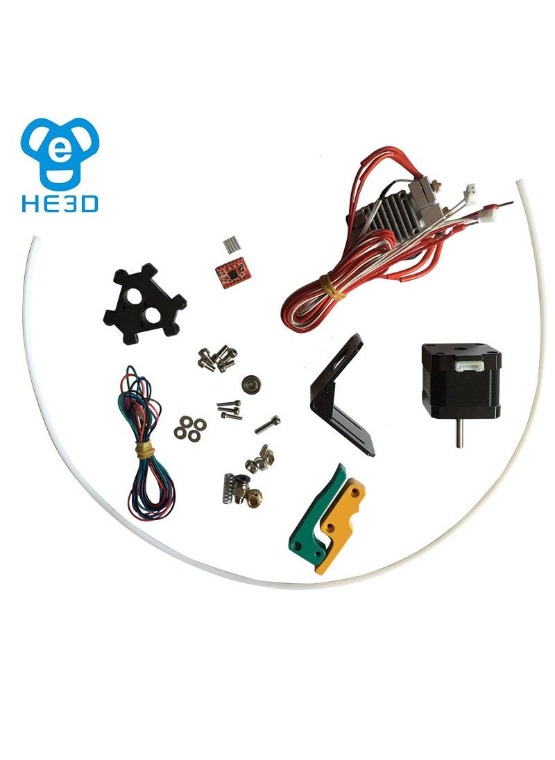 dual extruder upgrade set kits for HE3D K200/K280 3D printer