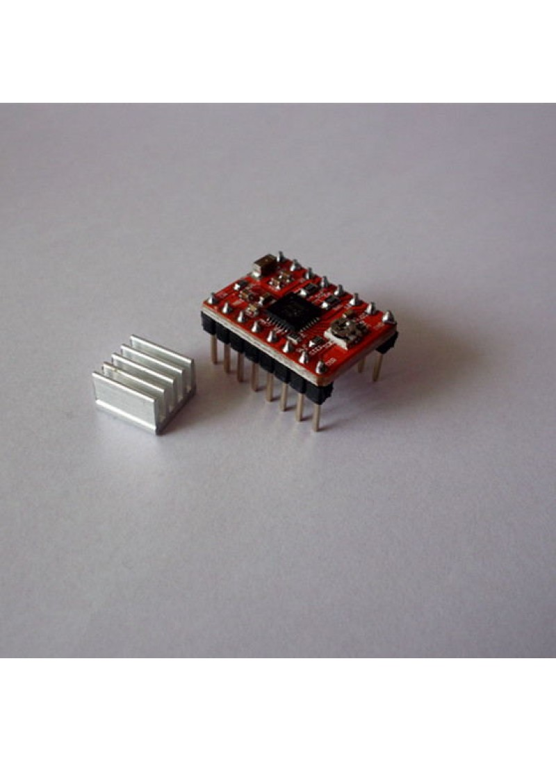 Free shippping 5pcs/lot A4988 StepStick Reprap Stepper Driver 3D Printer Driver 5 pieces