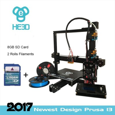 HE3D-EI3-dual  metal extruder  DIY 3Dprinter kit   free shipping for some countries