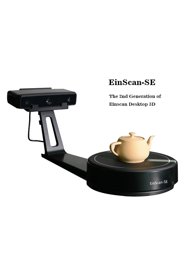 New Product HE3D EinScan-SE Desktop 3D scanner, the 2nd Generation of Einscan,