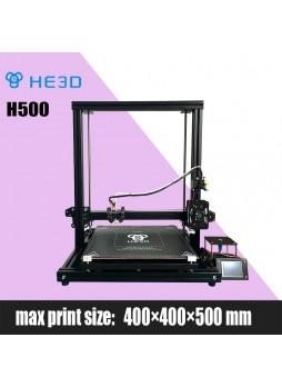 NEWest  HE3D H500 DIY 3D printer   large printing size 400*400*500