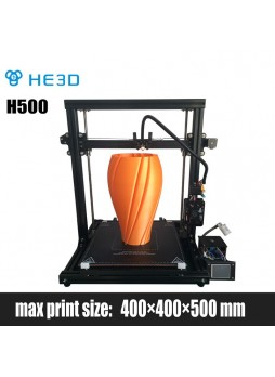 NEWest  HE3D H500 DIY 3D printer,large printing size 400*400*500mm