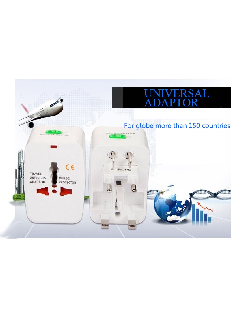 Universal adapter for global  more than 150 countries, power socket, EU/USA/AU/british standard
