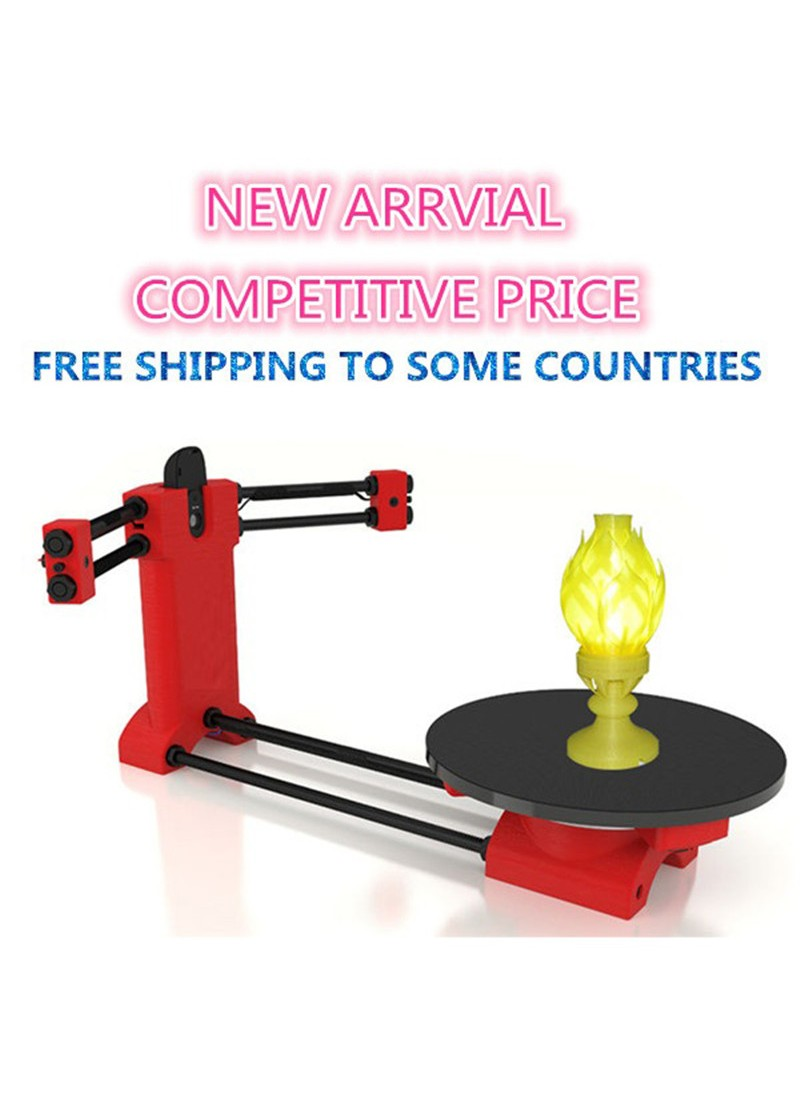 Reprap 3d Open source DIY 3d scanner kit for 3d printer-free shipping for some countries