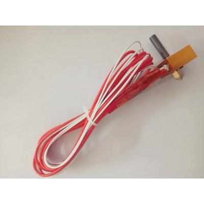 Reprap prusa xi3 3d printer accessories, 3d printer nozzle,hot end part,heating block kit