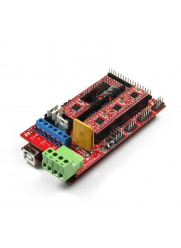 Free shipping Fully Completed Assembly RAMPS1.4 Controller Board for reprap 3d printer