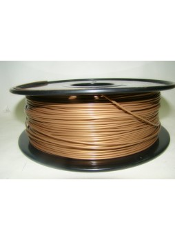 3D printer plated copper fill filament