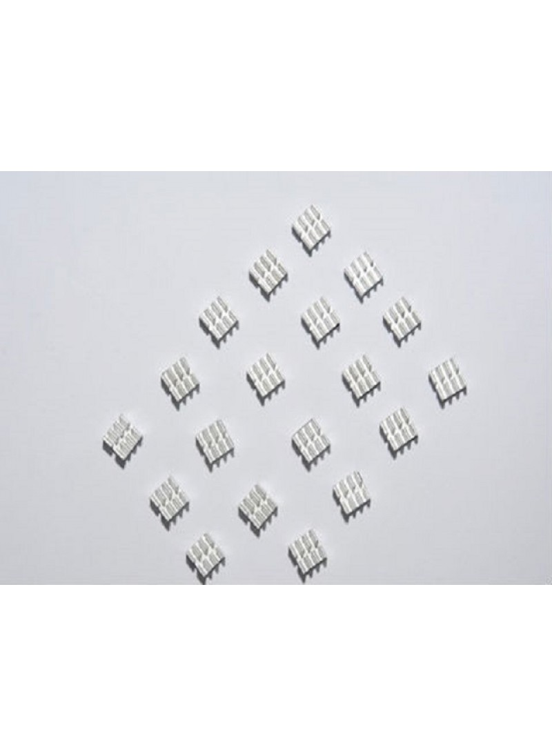 Free shipping Reprap 3d printer A4988/A4982 heatsink 10pcs