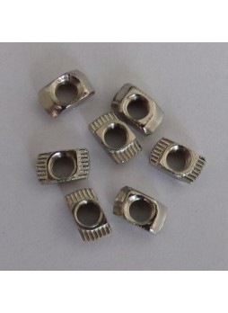 Free shipping M5 T nut for aluminumn profile of Delta 3d printer  100 pieces